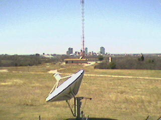 Fort Worth Skyline from KXAS-TV