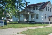 Johnny Carson's boyhood home in Norfolk, NE, taken July 2004. Click for larger image