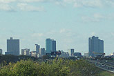 Fort Worth skyline from I-30 near Loop 820 taken Nov. 24, 2004. Click for larger image