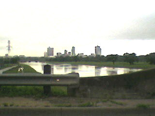 Trinity River Looking Toward Downtown Fort Worth