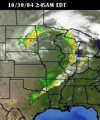 WXnation.com Radar early Saturday morning. Image links to live radar