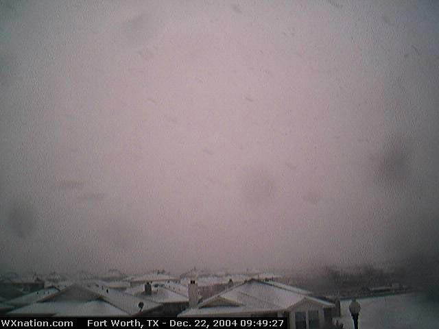 WXnation Fort Worth Webcam 2, Dec. 22, 2004. Click for larger image