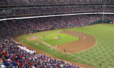 ALDS 2011, Game 2 at Rangers Ballpark in Arlington