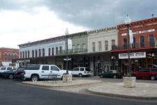 Downtown Granbury, Texas taken Aug. 13, 2005. Click for larger image in new window