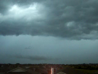 Lightning image taken July 5 in far north Fort Worth. Click for larger image in new window