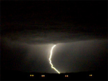 Taken at about 4 a.m. on June 5 in far north Fort Worth. Click for larger image in new window